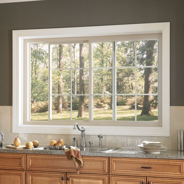 White 2 Lite Series 451 Slider Window